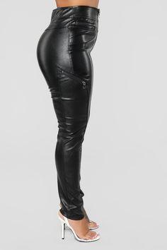 b2d1e63b654 Everbellus Sexy Womens Faux Leather High Waisted Leggings Black ...