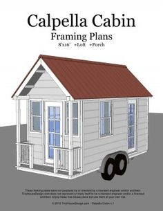 images about Small House Living on Pinterest   Tiny house on    Tiny House On Wheels Plans   tiny house cabin on wheels Weekend Sale on Tiny House