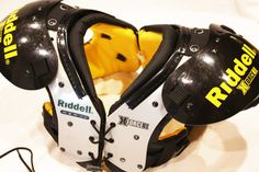 """Football Shoulder Pads Riddell X Force 2 II Youth Size M Medium (80) 12"""" - 13"""""""