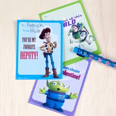 Toy Story Valentine Cards | Printables | Spoonful