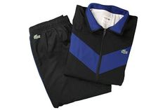 54e2d7c61a13f Lacoste Track Outfit (Black Navy White)