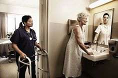 """#Portraits that touch the Heart ~ """"Reflections: Portraits of the Elderly Seeing Their Younger Selves"""" ~ via Petapixel #Photography @ http://caring-for-mom-and-dad.info"""