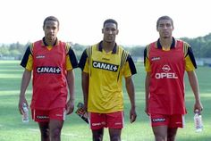 Thierry Henry, Nicolas Anelka and David Trezeguet.