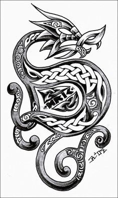 norse knotwork designs wolf | World's Most Popular Tattoo For Female