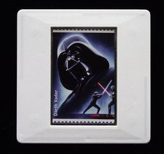 The Royal Mail released a set of special stamps featuring some of the characters, favourite droids, aliens and creatures of the Star Wars films. This 1st class stamp design shows Darth Vader. Darth Vader is best known as a Sith Lord but started life as Anakin Skywalker, a Jedi. He was listed as the 3rd greatest villain in cinema history by the American Film Institute in June 2003..  This unique and handmade brooch is an eye-catching piece, ideal to wear at any Comic Con. Greatest Villains, Presentation Cards, Sith Lord, Film Institute, Star Wars Film, Anakin Skywalker, Brooches Handmade, Royal Mail, Design Show