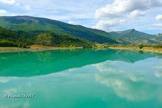 HAB19 - Le Buëch au barrage de St Sauveur à Serres - Hautes Alpes 05 Provence, Holiday 2014, France, River, Photos, Outdoor, Green Houses, Mountains, Travel