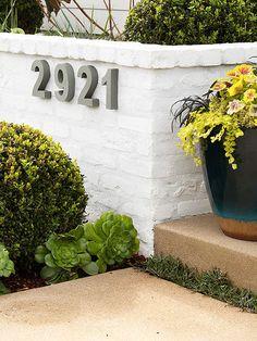 Modernize House Numbers