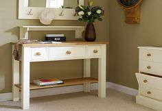 Your hallway is the first room people see when they enter your house. Declutter it by adding a painted console table with storage. Table, Storage, Painted Furniture, Hallway Table, Furniture, Hallway, Hallway Furniture, Home Decor, Room