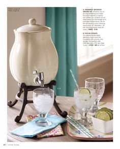 You can write on me and use for hot and cold drinks! Home Bar Accessories, Willow House, Southern Living Homes, Cold Drinks, Catalog, Decorating Ideas, Entertaining, Smile, Living Room