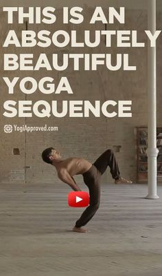 This is absolutely beautiful! Watch this Yoga sequence