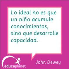 Frase célebre de John Dewey