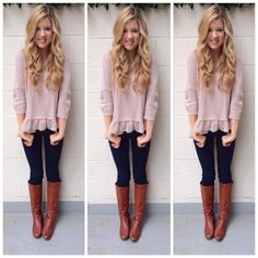 LOVE this sweater! The whole outfit is gorgeous (from meghanrosette instagram)