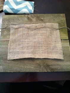 Burlap and Bananas: No-Sew Burlap Gift Bag DIY Tutorial!