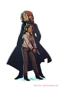 Ichabod and Abbie, Sleepy Hollow.