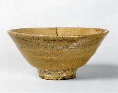 Tea Bowl of the Ido type; named 'Tokiwa'. Korea, Choson Dynasty, 16th century.