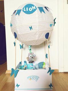 Heißluftballon zur Geburt - NeLuMum