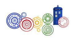 Doctor Who Google Doodle by HugoLynch on deviantART