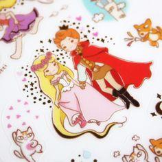 ★ Stickers Raiponce