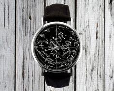 Vintage Constellation Watch  Northern Hemisphere  by RedJuanShop