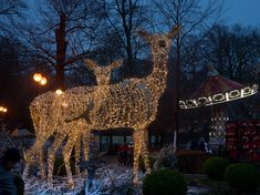 MK Illumination helped Tivoli Friheden create a feeling of hygge with holiday lighting, festive decorations and gorgeous fiberglass and animatronic characters… Hygge, Festival Decorations, Holiday Lights, Denmark, Festive, Destinations, Lighting, Lights, Travel Destinations