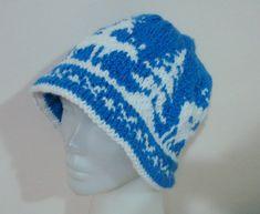 Hand Knit Hat Women Hat  Cloche Womens Beanie Hat by earflaphats, $50.00