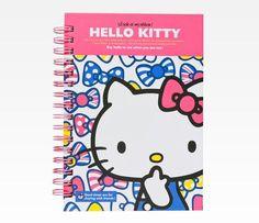 Hello Kitty Spiral Notebook: Union Jack