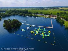 New Forest Water Park, Hampshire UK.  New and enlarged Sports Park, biggest one in the UK!
