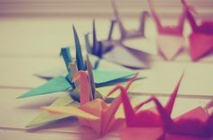 Looking forward to making Origami with our kids someday.