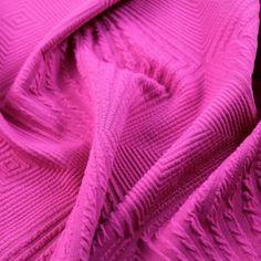 To The Victor Matellassé Knit - Fuchsia Purple - Gorgeous FabricsGorgeous Fabrics, $12/yard