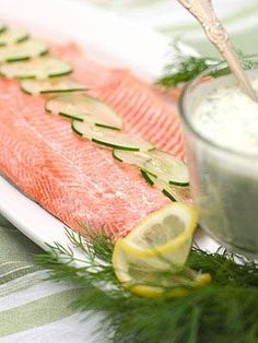 dinner party recipes for salmon