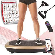 Vibrationsplatte 3D Profi Heimtrainer Fitness 200W Vibrationstrainer Vibration P