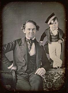 P.T. Barnum and General Tom Thumb, 1850
