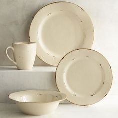 """<i>Hacienda de vida</i> means """"ranch of life"""" in Spanish, but we think our stoneware is more suited to thoughts of """"this is the life.""""…"""