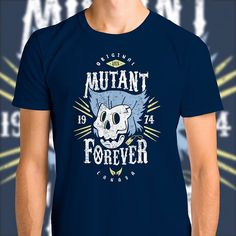 "(EN) ""Mutant Forever"" designed by the astounding Olipop Art & Design is our NEW T-SHIRT. Available 72 hours order yours today for only 12/$14/10 on WWW.WISTITEE.COM (FR) ""Mutant Forever"" créé par l'incroyable Olipop Art & Design est notre NOUVEAU T-SHIRT. Disponible 72 heures réservez-le dès maintenant pour seulement 12 sur WWW.WISTITEE.COM #Wolverine #Xmen #Logan #mutant #crane #skull #Olipop #wistitee #design #tshirt #limitededition"