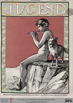 Jugend: Münchner illustrierte Wochenschrift für Kunst und Leben (1.1896, Band 2 (Nr. 27-52))