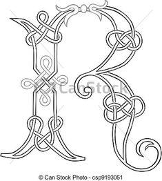 fonte letra celta - Pesquisa Google