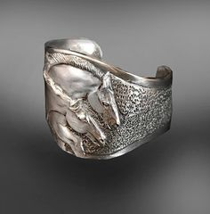Freedom Horses cuff bracelet by HorseLadyGifts on Etsy