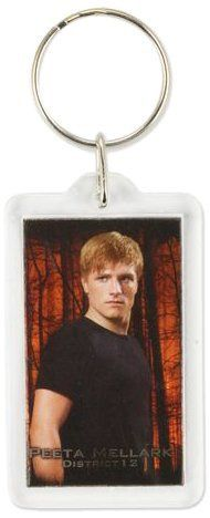 "The Hunger Games Movie ""Peeta"" Lucite Keychain by NECA, http://www.amazon.com/dp/B0074BV354/ref=cm_sw_r_pi_dp_IZTGpb1XP9ET2"