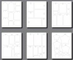 Free Printable Papercraft Tag Templates