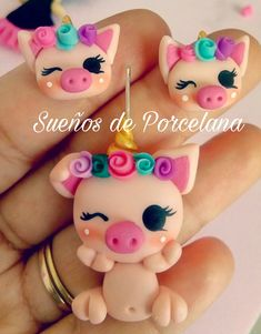 Polymer Clay Figures, Cute Polymer Clay, Polymer Clay Animals, Cute Clay, Fimo Clay, Polymer Clay Charms, Polymer Clay Earrings, Clay Art Projects, Polymer Clay Projects