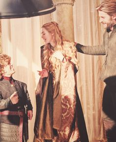 the golden Lannister siblings
