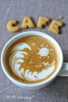 Sun Latte Art