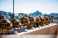 Indiana Buffet | Wedding Planning & Design by Luxury Estate Weddings & Events | luxuryestateweddings.com