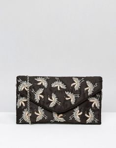 e7e5836ad0d650 New Look | New Look Bird Embroidered Clutch Bag New Look, Fashion Online,  Clutch