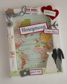 Geldgeschenk zur Hochzeit - Honeymoon von ~purFürstlich~ auf DaWanda.com
