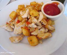 Chicken Hash at Beacon Hill Bistro in Boston.