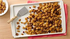 """Cranberry-Orange Chex™ Mix Give the gift of a homemade snack mix. This one may be the """"berry"""" best you'll make! Chex Mix Flavors, Chex Mix Recipes, Dog Food Recipes, Snack Recipes, Party Recipes, Bread Recipes, Dessert Recipes, Best Holiday Appetizers, Party Appetizers"""