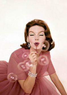 Bubbles & Diamonds for VOGUE, 1959.