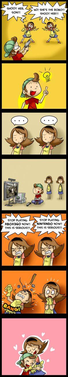 stop playing Nintendo