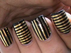 Striping tape nail art tutorial for beginners easy how to do nail art striping tape tutorial DIY video - http://www.bornprettystore.com/color-line-nail-striping-tape-design-lines-p-231.html . Don't forget to use 10% site wide off with this coupon code- SWSK31!!!!     For all other nail art products - http://www.bornprettystore.com/  . Don't forget...